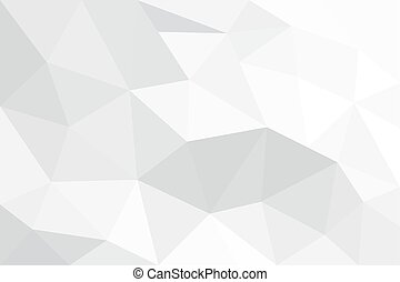 Light, vector background in low poly style