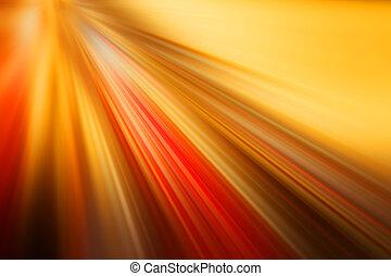 light velocity, orange red background