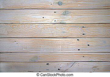 Light wooden desk surface
