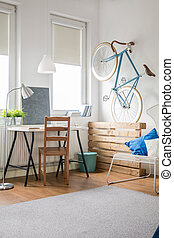 Light work place - Creative and light work place for busy...