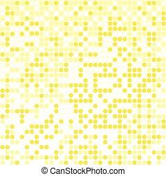 light yellow pixel background