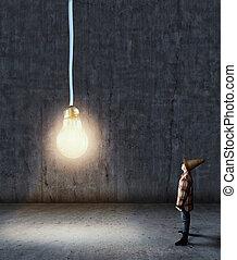 lightbulb, 部屋