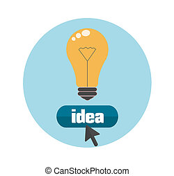 lightbulb, concept, idee