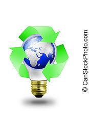 Lightbulb environment
