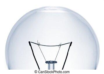 lightbulb, gros plan
