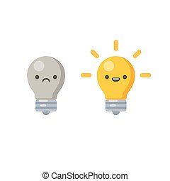 lightbulb, icône