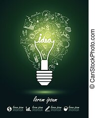 lightbulb, idées