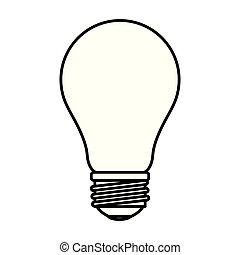 lightbulb, idea, affari