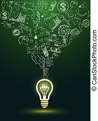 lightbulb, ideeën