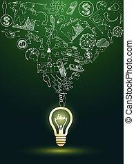 lightbulb, idee