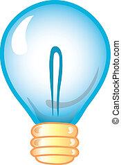 lightbulb, ikone