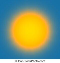 lightbulb, illustra, céu, abstratos, amarela, luminoso,...