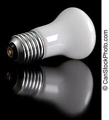Lightbulb in the dark