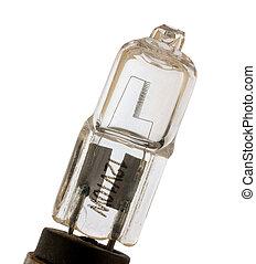 Lightbulb, isolated on background