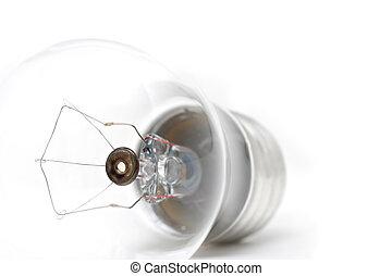 lightbulb, macro, highkey