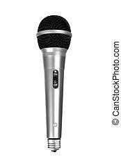 lightbulb, microfono