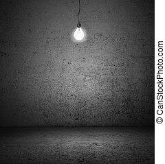 lightbulb, salle