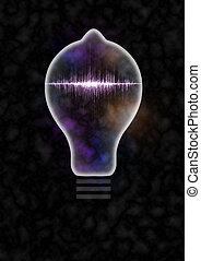 Lightbulb Sound Wave
