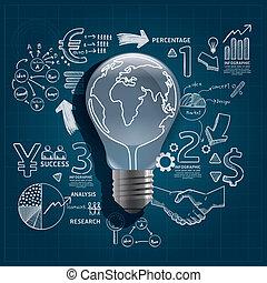 lightbulblineblue [Converted].eps - light bulb doodles line...