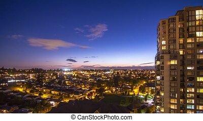 Lighten Up Residential Area - Time Lapse Lighten Up the city...