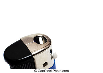 Lighter isolated on a white background, copy space