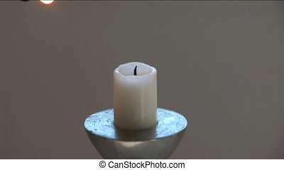 Lighter On Candle