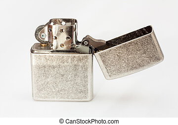 Lighter on white background.