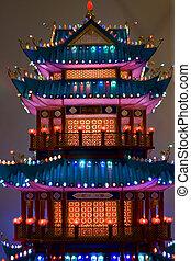 Lightful tower lantern