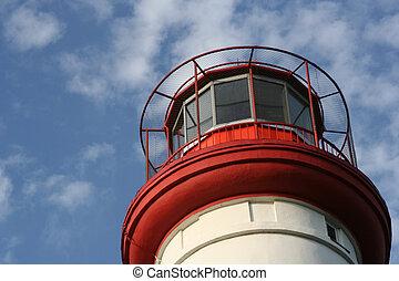 Lighthouse - a detail