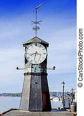 Lighthouse at Aker Brygge in Oslo