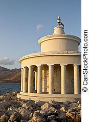 Lighthouse of St. Theodore at Argostoli of Kefalonia island in Greece