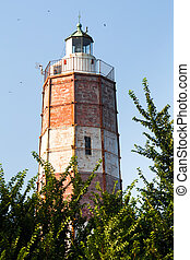 Lighthouse at Cape Shabla on the Black Sea Coast