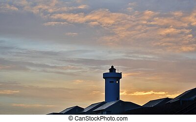 Lighthouse at dawn...