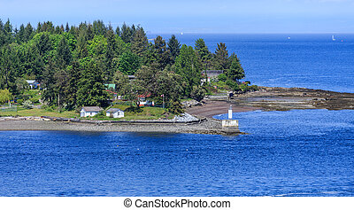 Lighthouse at Gallows Point