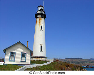 Lighthouse at Pigeon Point, California