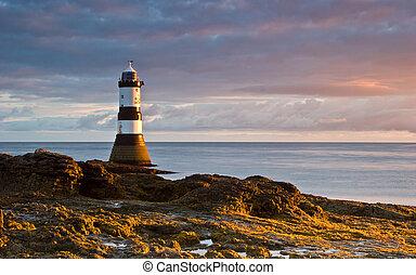 Lighthouse at Sunrise