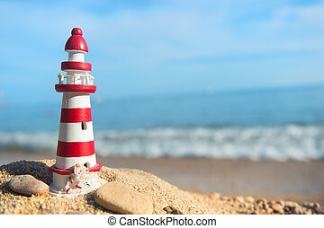 Lighthouse at the beach