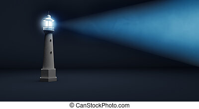 lighthouse beam of light - light beam of a lighthouse ...