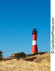 Lighthouse between dunes 3