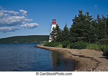 Lighthouse Cape Breton