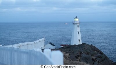 Lighthouse - Cape Spear lighthouse in winter.