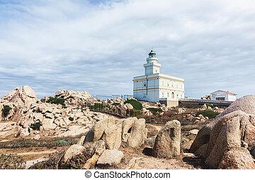 Lighthouse Capo Testa Santa Teresa Gallura Sardinia - ...