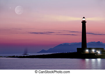 Lighthouse favignana