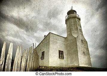 Lighthouse (grunge)