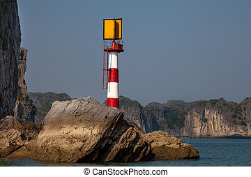 Lighthouse, Ha Long Bay, Vietnam