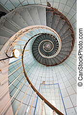 lighthouse high staircase