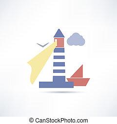 lighthouse icon