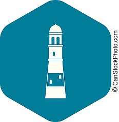 Lighthouse icon simple