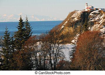 Lighthouse in Alaska