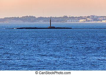 Lighthouse in Cadiz
